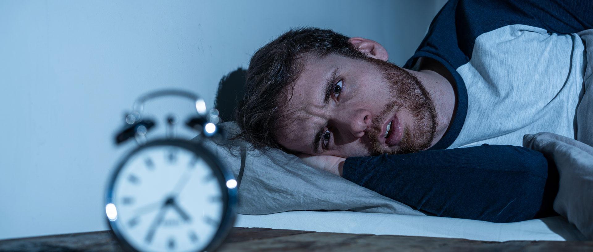 What causes sleep anxiety?